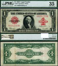 FR. 40 $1 1923 Legal Tender Choice PMG VF35