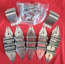 Overhead Door Hardware Kit Includes Hinges Rollers & Top Fixtures For 16x7