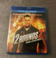 NEW 12 ROUNDS 2 RELOADED  Blu-ray + DVD + Digital HD