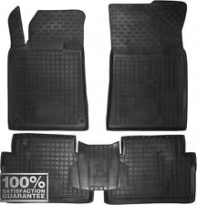 Rubber Carmats for Peugeot 508 2011-2017 All Weather Floor Mats Fully Tailored
