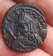 Ancient coin Romanos I Lekapenos Byzantine Emperor 920-944 Ad
