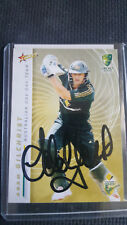 ADAM GILCHRIST SELECT ONE DAY  TEAM  SIGNED CARD