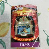 Disney Store 10th Anniversary Aladdin Jasmine Genie Pin Badge Rare