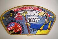 OA NARRAGANSETT COUNCIL PATCH JSP GMY FAR SIDE 2001 JAMBOREE DELEGATE FLAP