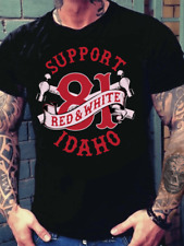DOUBLE HAMMER Support Idaho 81 Hells Angels T Shirt