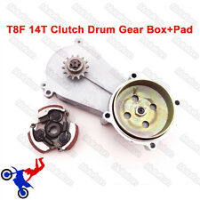 14T T8F Clutch Drum Gear Box For 47cc 49cc Kid Mini Moto ATV Quad Dirt Bike