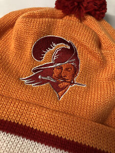 Tampa Bay Buccaneers NFL Mitchell & Ness Beanie Knit Hat EXCLUSIVE! 🔥 🔥 Brady!