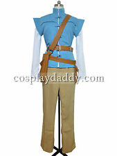 Tangled Prince Flynn Rider cosplay costume Handmade C002
