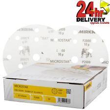 Mirka Microstar propósito general Discos Abrasivos P2000 150mm película-x 50
