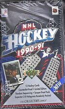 1990-91 Upper Deck Factory Sealed 2-Box Hockey Lot (Low & High Series) Jagr RC ?