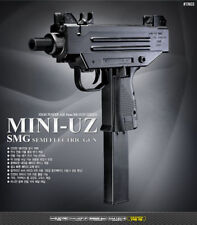 New Academy MINI-UZ SMG SEMI AUTOMATIC ELECTRIC Gun Airsoft Gun #17403 Kit Model