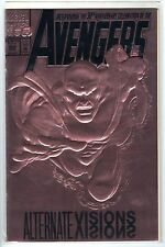 AVENGERS #360 Alternate Visions Gold Foil Cover Marvel Comic Book