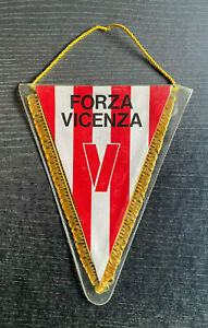 Alter Wimpel Lanerossi Vicenza - Forza Vicenza (Italien)