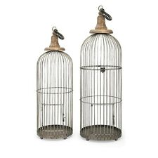 IMAX 40516-2 Lenore Bird Cages-Set of 2 NEW