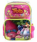 "Dreamwork Trolls Poppy and Her friends 16"" Backpack School Book Bag"