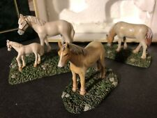 2005 Lang & And Wise Colonial Williamsburg Set Of 3 Horses