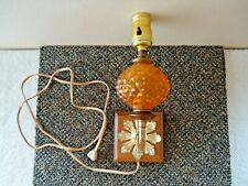"Vintage Wall Mount Art Deco Lamp "" BEAUTIFUL COLLECTIBLE LAMP """