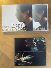 Rare Signed NICK CAVE & THE BAD SEEDS Cd With Gloss Slipcase + KYLIE Duet Single