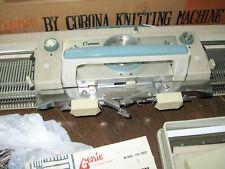 Corona Genie CH 1500 knitting machine 4.5 mm Lots of Accessories Tools