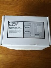 SlingLink Turbo W1 Model SL300-100 Homeplug-Ethernet Adapter 157089