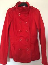 giacca trench donna marca H&M rosso