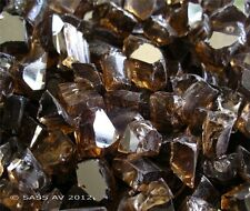 "5 Lbs ~1/2"" Chunky Copper Reflective Fireglass Fireplace Fire Pit Glass Crystals"