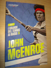 BOOK BOOK N°1 I GRANDI OF TENNIS AI RAYS X JOHN MCENROE GAZZETTA DELLO SPORT