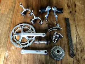 Shimano Dura Ace 7400 8 speed groupset durace group set 600