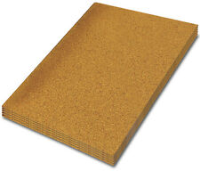 LARGE CORK SHEET, 610 mm x 450 mm - PACK OF 4 SHEETS - CHOOSE YOUR THICKNESS
