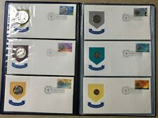 BRITISH VIRGIN ISLANDS 1973 First Day of Issue Cachets Proof Coin & Stamp Folio