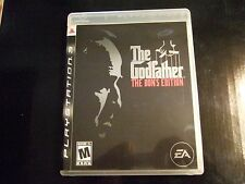 Replacement Case (NO GAME) THE GODFATHER THE DON'S EDITION PLAYSTATION 3 PS3