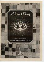 Alison Moyet UK 45' advert 1984