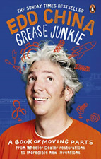 China, Edd-Grease Junkie BOOK NEW