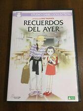 RECUERDOS DEL AYER - STUDIO GHIBLI COLLECTION - DVD - 119 MIN - EN BUEN ESTADO