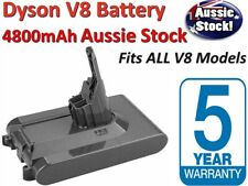 4800mAh Battery SV10 For Dyson V8 Absolute Animal Vacuum Cleaner Sony Cell AUS