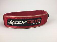 Ezydog Neoprene Collar Red Snap 3XL Wide Waterproof Quick Release