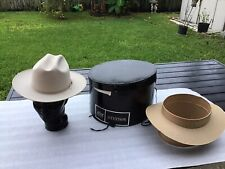 NEW Vintage 1960s STETSON OPEN ROAD 10X BEAVER Silverbelly 7-1/8