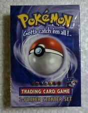 WOTC Pokemon Base Set 2-Player Starter Set Factory Sealed 1st Edition Holo 1999