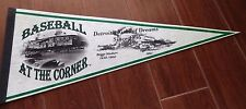 Detroit Tigers Stadium Baseball At The Corner Pennant New