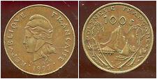 POLYNESIE francaise 100 francs 1995 ( bis )