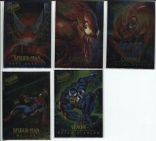 1995 FLEER ULTRA SPIDER-MAN MASTERPIECES & GOLDEN WEB CHASE - 12 DIFFERENT