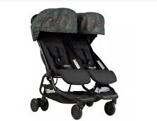 Mountain Buggy Nano Duo Stroller Year of the Dog Pattern NEW Double Stroller