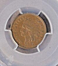 1874 Indian Cent,  PCGS AU-55, CAC