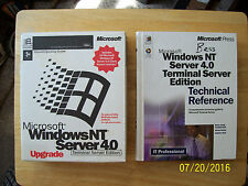 Windows Terminal Server Dual Boot NT4 and Citrix WinFrame v1.7 Enterprise & More