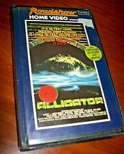 Vintage Alligator - Thriller VHS Tape - Deceased Estate