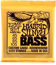 Ernie Ball ROUNDWOUND Hybrid Slinky Bass Guitar Strings  2833 - 45-105