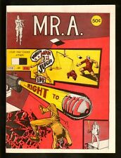MR A #1 9.2 NM 1973 JOE BRANCATELLI STEVE DITKO WHITE PAPER HIGH GRADE FILE COPY