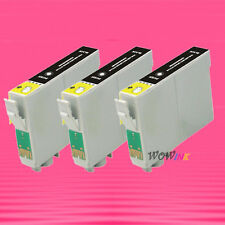 3P T078 78 BLACK INK CARTRIDGE FOR EPSON R595 RX680