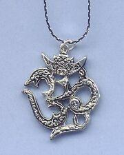 OM Amulet/Pendant  w/cord!