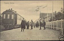 finland, TORNIO, Tornion Asema, Train Station (1910s)